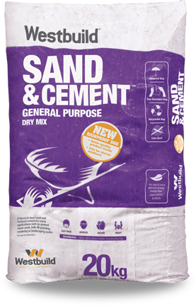 Sand & Cement Dry-Mix - Rainproof Bag