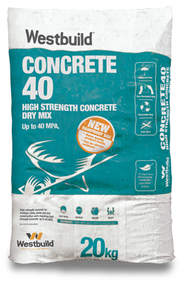 Concrete40™ High Strength - Rainproof Bag