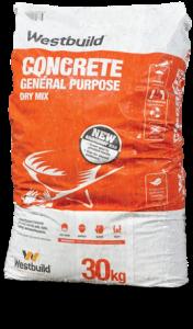 Westbuild general purpose concrete rainproof