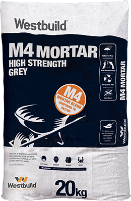 M4 Mortar High Strength - Grey