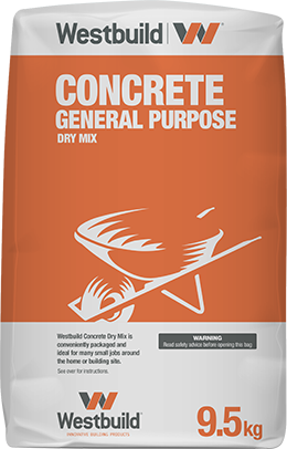 Concrete General Purpose - 9.5kg DIY Bag