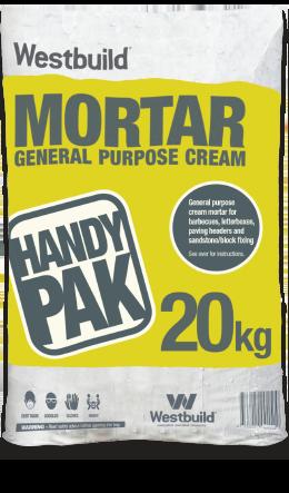 Cream Mortar Mix - Handy Pak